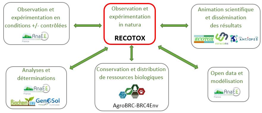Intégration de RECOTOX au sein d'une structure française encourageant la recherche agro-environnementale et en écotoxicologie